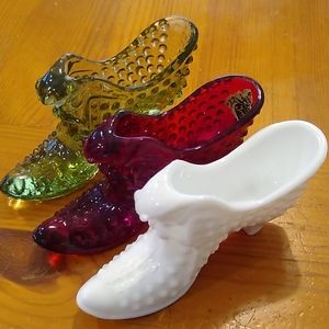 Fenton Glass Shoes